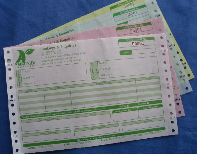 Business Forms  Alpha Printing  Packaging